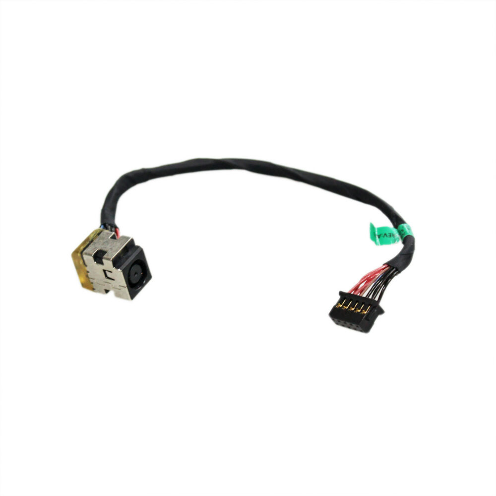 AC DC In Power Jack w/ Cable For HP ZBOOK 15 17 G1 G2