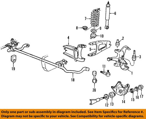 small resolution of ford oem 92 96 f 150 front suspension mounting bracket e1tz3b095b ebay 2005 ford f150 4x4 front suspension diagram 2005 ford f 150 front suspension diagram