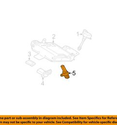 details about nissan oem 05 09 quest engine crankshaft crank position sensor cps 237318y00a [ 1000 x 798 Pixel ]