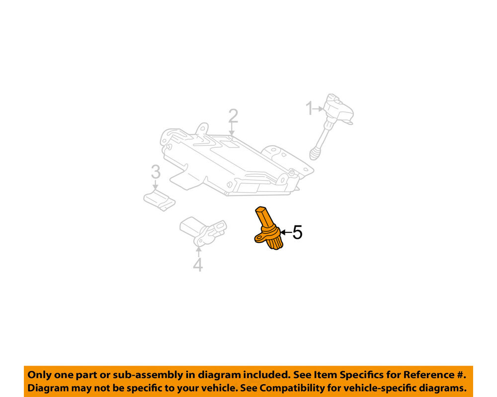 medium resolution of details about nissan oem 05 09 quest engine crankshaft crank position sensor cps 237318y00a