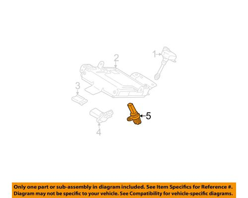 small resolution of details about nissan oem 05 09 quest engine crankshaft crank position sensor cps 237318y00a