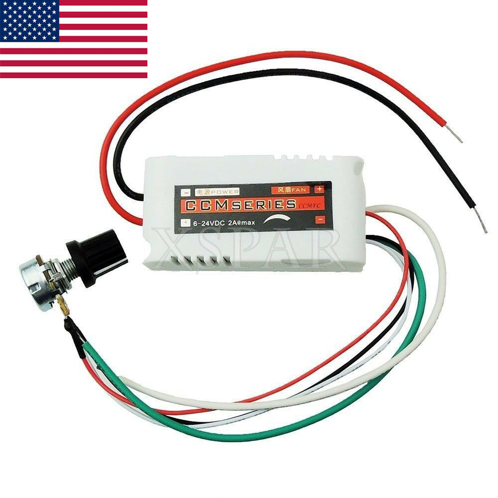 hight resolution of details about dc 12v pwm motor speed control controllor for fan pump oven blower w switch usa