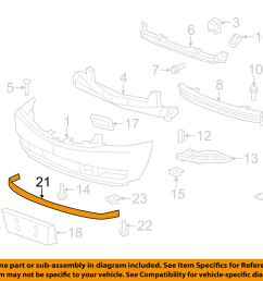 details about cadillac gm oem 07 14 escalade front bumper spoiler lip chin splitter 15138234 [ 1000 x 798 Pixel ]