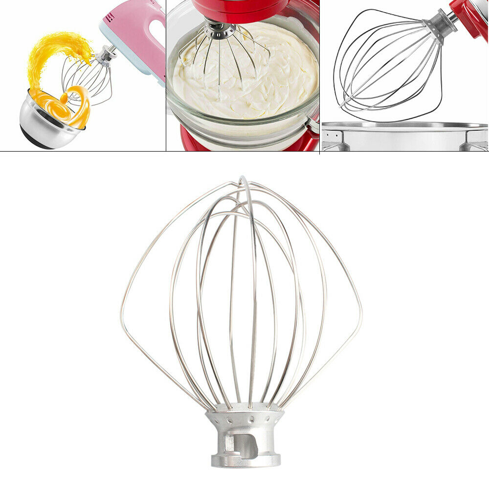 For KitchenAid 6-Wire Whip Whisk Beater Stand Mixers