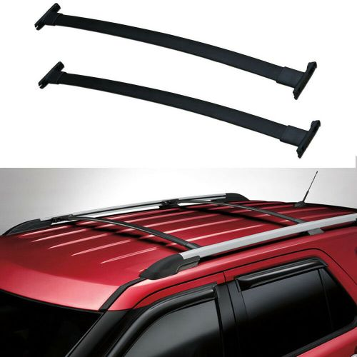 small resolution of details about 11 15 ford explorer roof rack cross bars oe style pair
