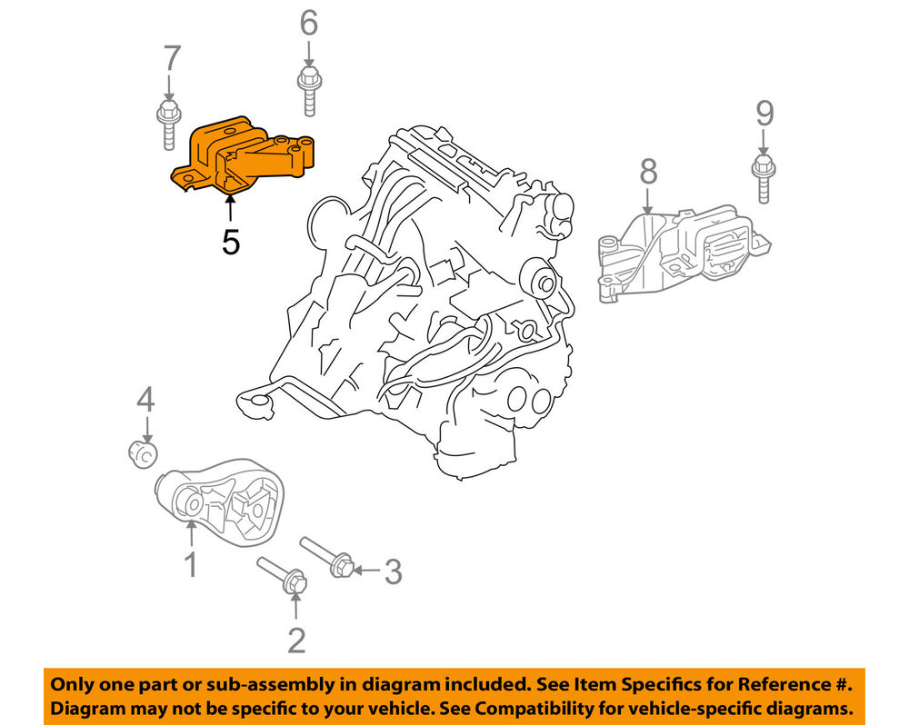 hight resolution of details about smart oem 08 15 fortwo engine motor mount torque strut 1322200048