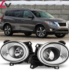 13 16 for nissan pathfinder clear lens pair oe fog light lamp wiring nissan pathfinder fog light wiring [ 1000 x 1000 Pixel ]
