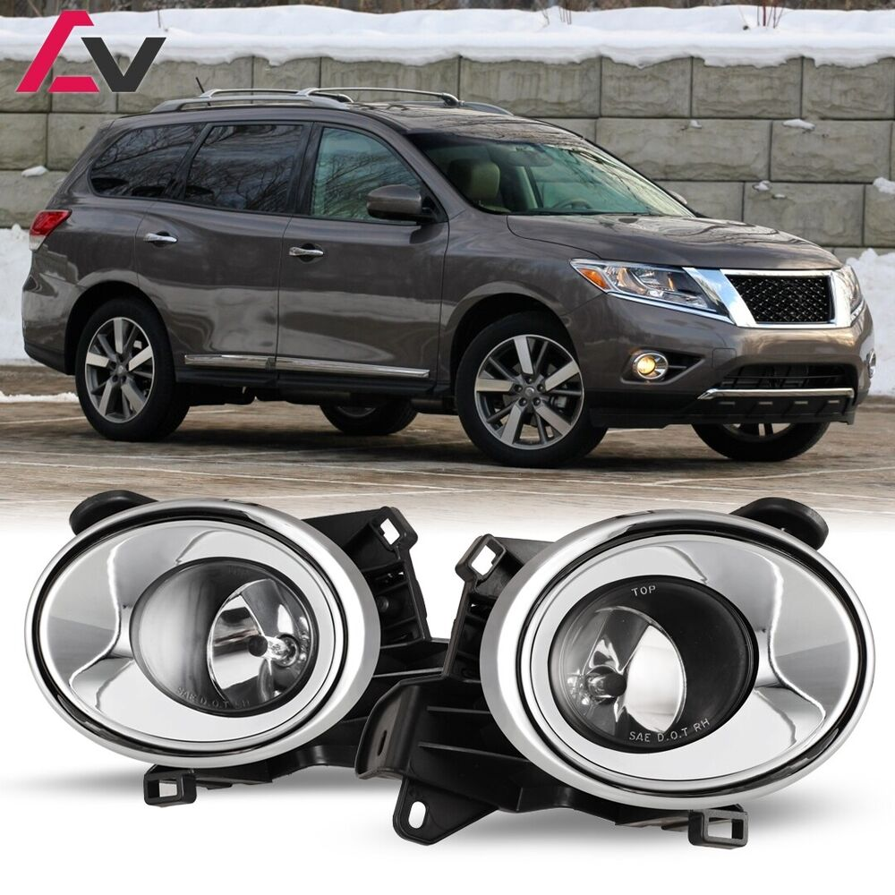 medium resolution of 13 16 for nissan pathfinder clear lens pair oe fog light lamp wiring nissan pathfinder fog light wiring