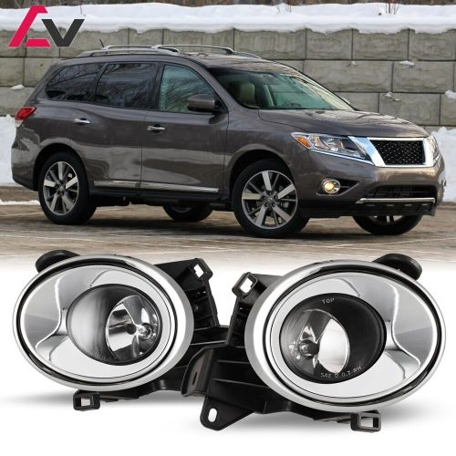 small resolution of 13 16 for nissan pathfinder clear lens pair oe fog light lamp wiring nissan pathfinder fog light wiring