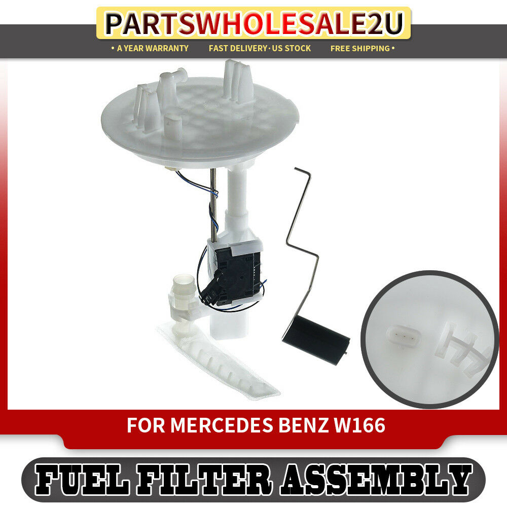 medium resolution of details about fuel filter w sending unit for 12 18 mercedes benz gl ml class w166 1664700490
