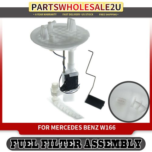 small resolution of details about fuel filter w sending unit for 12 18 mercedes benz gl ml class w166 1664700490
