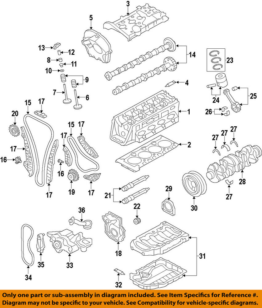 hight resolution of details about audi oem 09 17 a4 quattro engine timing chain guide 06h109509p