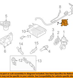details about ford oem 08 11 focus a i r system check valve 6s4z9f491a [ 1000 x 798 Pixel ]