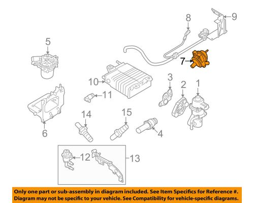 small resolution of details about ford oem 08 11 focus a i r system check valve 6s4z9f491a