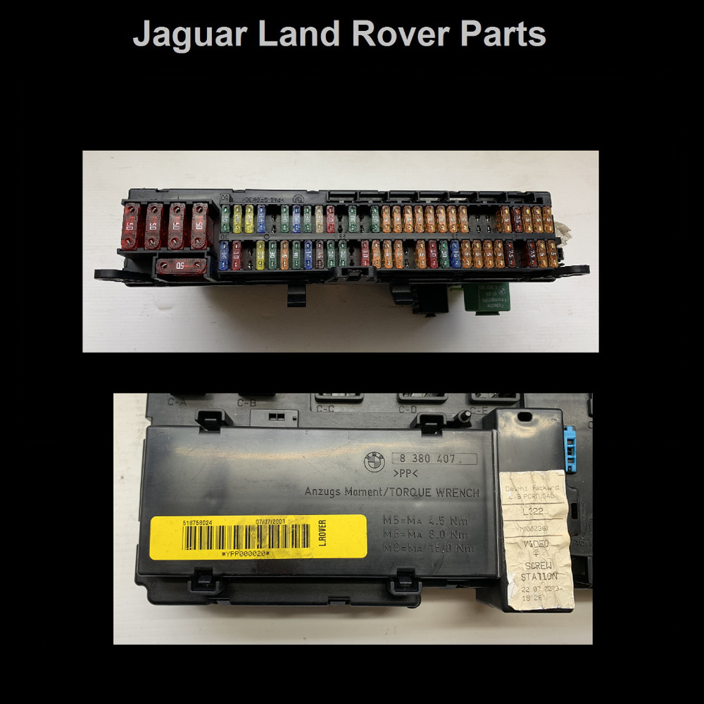 medium resolution of details about range rover l322 front engine fuse box ypp000020