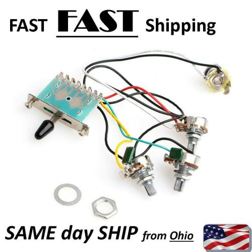 small resolution of details about strat stratocaster other electric guitar pre wired wiring harness