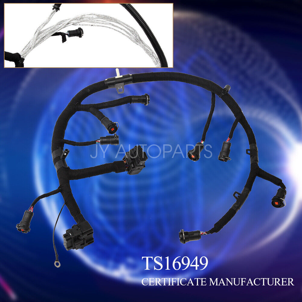 hight resolution of details about 6 0l 6 0 powerstroke diesel ficm fuel injector wiring harness 2003 2007