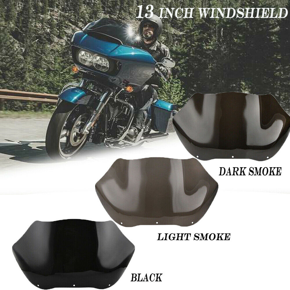medium resolution of details about smoke 13 tint wave windshield screen for harley road glide fltr fltrx 1998 2013