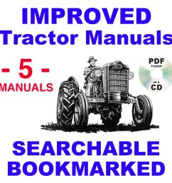 details about ford 621 631 641 651 661 tractor service parts catalog owners manual 5 manuals [ 1000 x 1000 Pixel ]