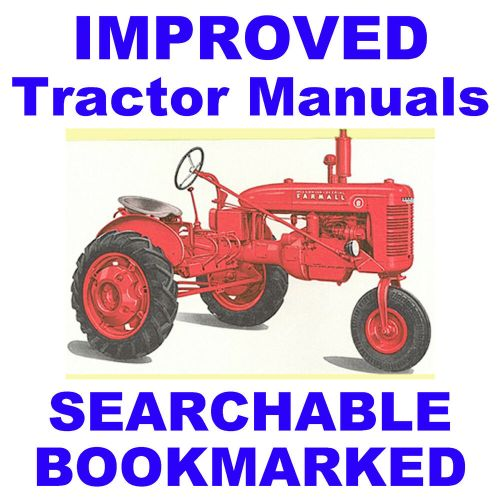 small resolution of details about mccormick ih farmall b bn service manual parts catalog 2 tractor manuals cd