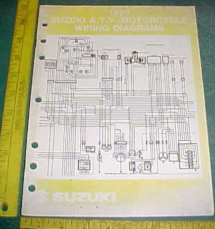 Suzuki Motorcycle Amp Atv Wiring Diagram Schematics
