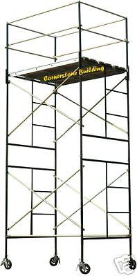 SCAFFOLD ROLLING TOWER SAFERSTACK Complete 2-Section High