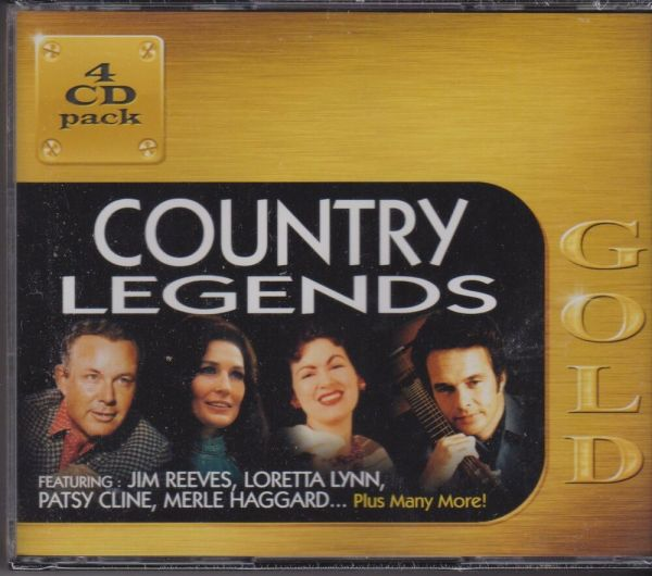 Country Legends - Gold Artists 4 Cd'