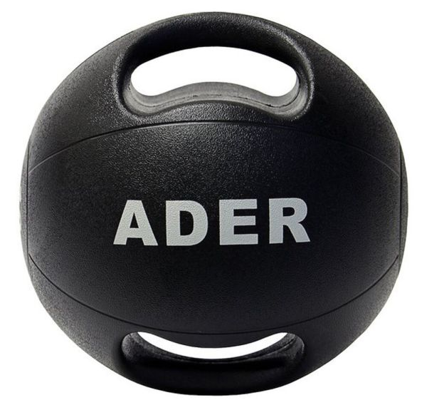 Ader Double Grip Medicine Ball- 14 Lb