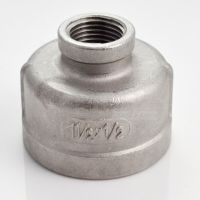 "Nipple 1-1/2"" x 1/2"" Female Stainless Steel 304 Threaded ..."