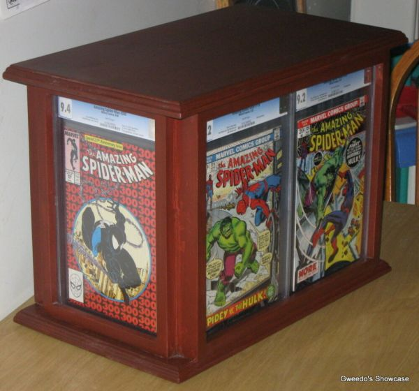 Custom Comic Book Display Frames