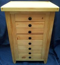 FLY STORAGE CABINET fly tying fly fishing trout smallmouth