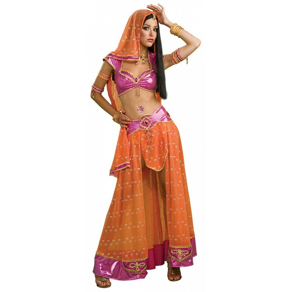 Belly Dancer Costume Adult Womens Sexy Indian Bollywood ...