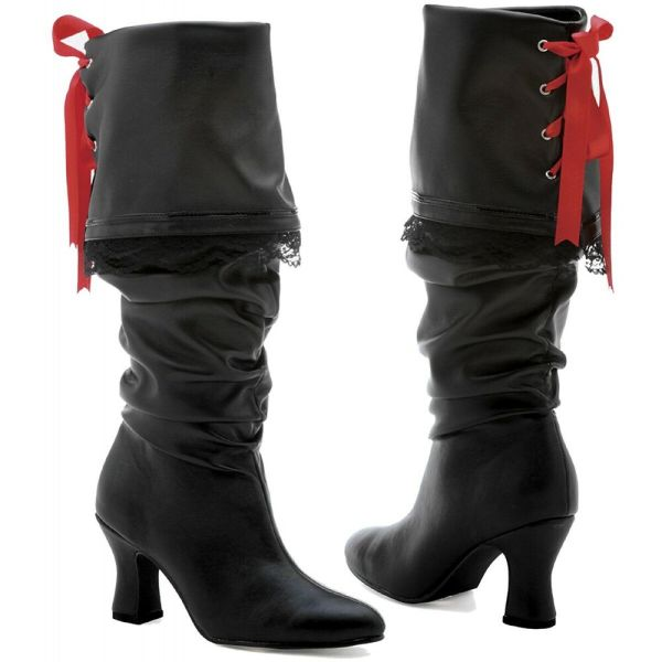 Pirate Boots Adult Womens Costume Shoes Halloween Fancy