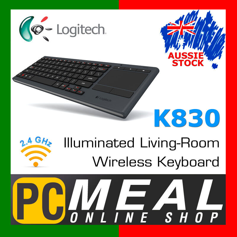 Logitech K830 Illuminated LivingRoom Keyboard Wireless