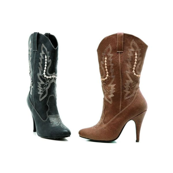 Womens Cowboy Boots High Heel Adult Cowgirl Western