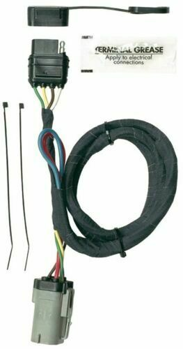 Hoppy 40155 PlugIn Simple Trailer Hitch Wiring Kit for 99