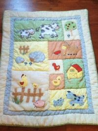 22 Piece Kidsline Barnyard Baby Nursery Crib Bedding Farm ...
