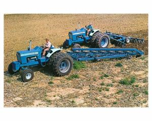 1972 Ford 8000 9000 Tractor Photo Poster zc2677M6L852   eBay