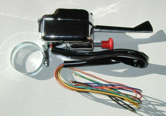 Universal Turn Signal Switch Top Quality Peterbuilt White