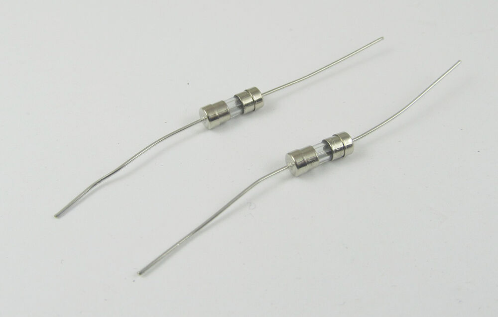20pcs Glass Tube Fuse Axial Leads 3.6 x 10mm 3.15A T3.15A