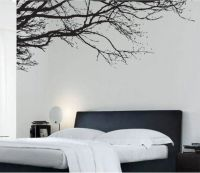 Large Tree Branch Art Vinyl Wall Sticker, DIY Home Wall