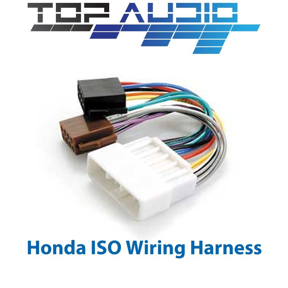 hight resolution of details about fit honda iso wiring harness stereo radio plug lead loom connector adaptor