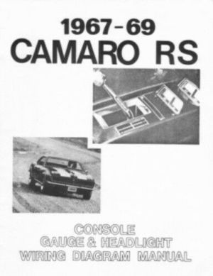 CAMARO 1967, 1968 & 1969 Wiring Diagram Including