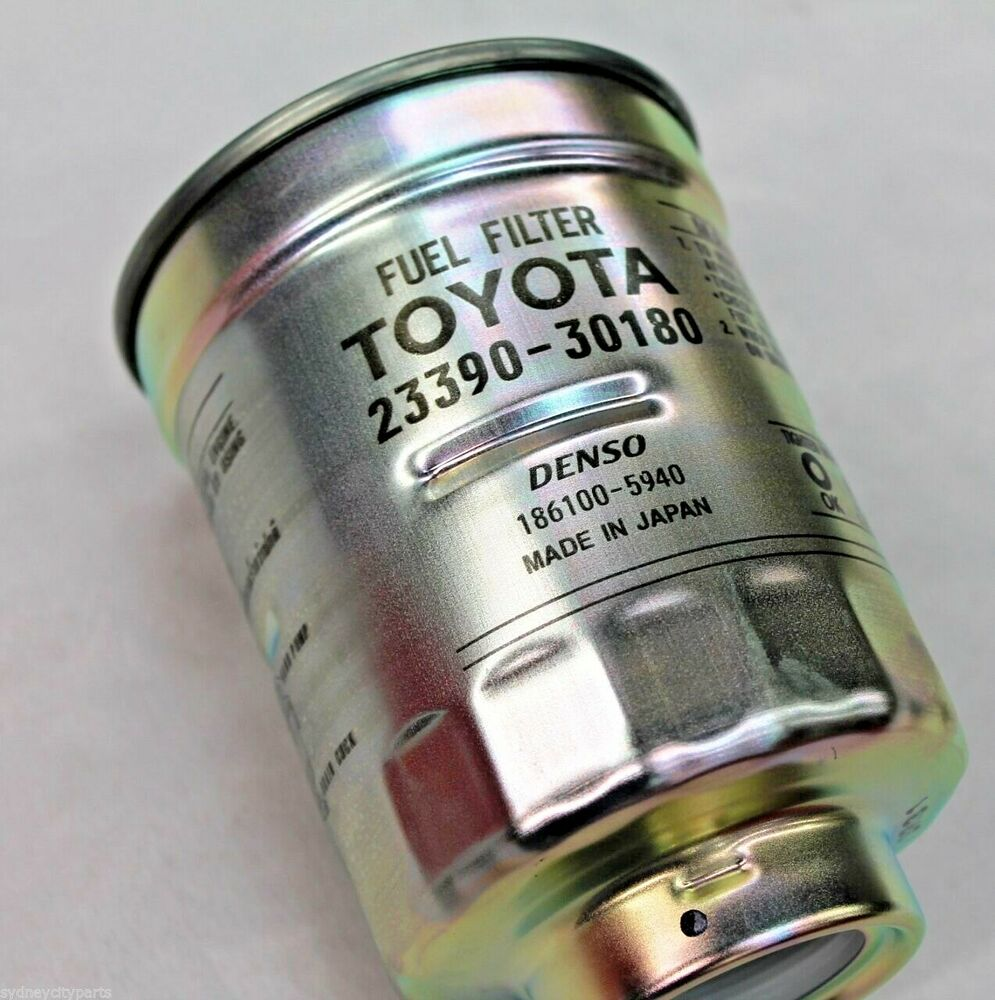 medium resolution of toyota prado fuel filter diesel 120 series kdj120 kzj120 from feb 04 genuine ebay