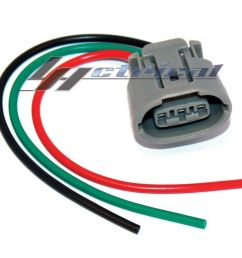 details about alternator repair plug harness 3 wire pin connector fits kia hyundai 2 0l 4cyl [ 1000 x 1000 Pixel ]