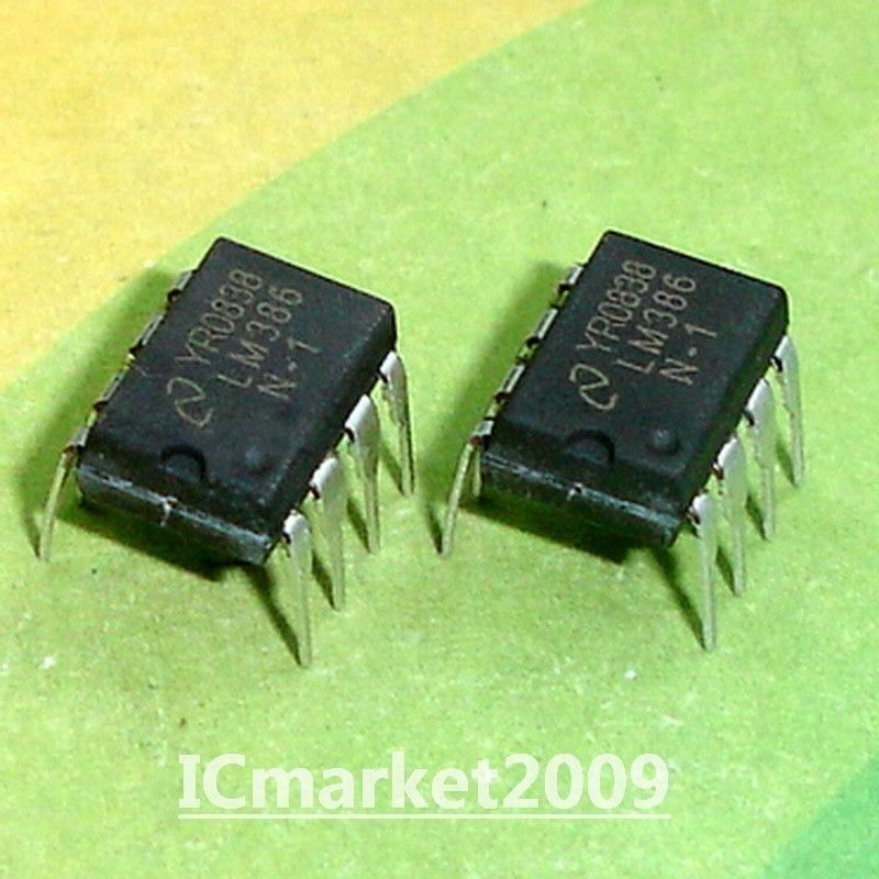 Typical Lm386 Audio Amplifier Circuit