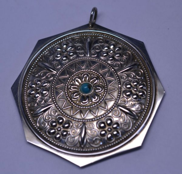 Vtg 1977 Towle Sterling Silver Special Ed. Turquoise