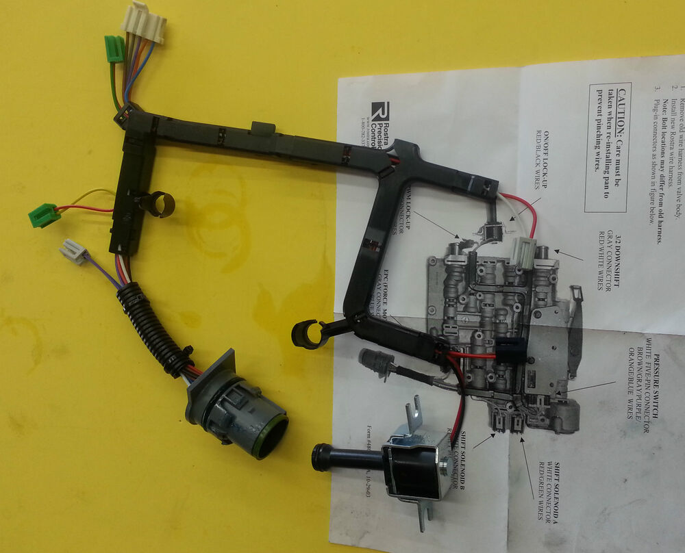 hight resolution of 4l60e transmission external wire harness repair 20 pin