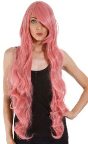 womens long curly wavy hair synthetic
