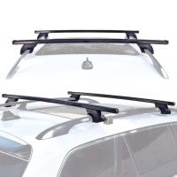 Wagon SUV Universal Roof Rack Cross Bar Rail Pair Car ...
